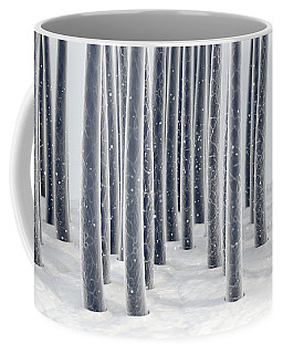Microscopic Hair Fibers Coffee Mug