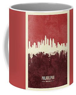 Philadelphia Pennsylvania Skyline Coffee Mug