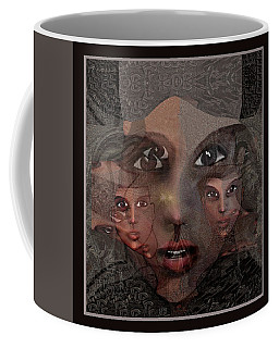 2327- Portrait Fractal 2017 Coffee Mug