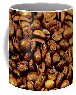 Coffee Mug featuring the photograph Coffee Beans by Les Cunliffe