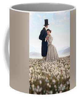 Victorian Couple Coffee Mug by Lee Avison