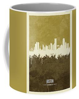 Boston Massachusetts Skyline Coffee Mug