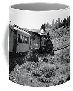 Coffee Mug featuring the photograph 25 Miles Per Hour by Ron Cline