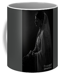 Portrait Of Indian Lady Coffee Mug