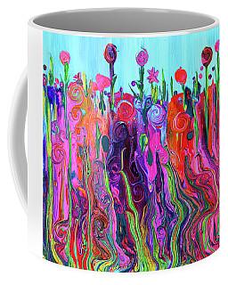 #2555  Happylittle Garden Coffee Mug