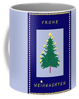 2585 Frohe Weihnachten  Coffee Mug