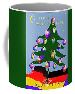 2590 Frohe Weihnachten  Deutschland Card 2017  Coffee Mug