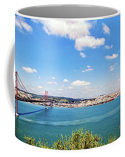 25th April Bridge Lisbon Coffee Mug