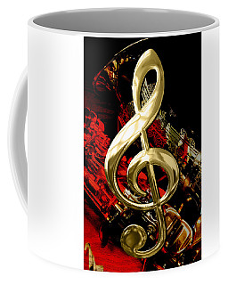 Saxophone Collection Coffee Mug