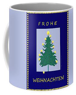 2603 - Frohe Weihnachten 2018 Coffee Mug