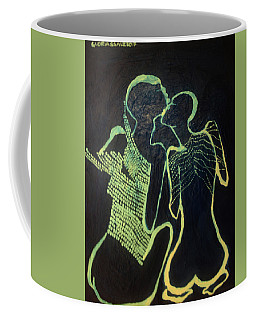 Dinka In Blue - South Sudan Coffee Mug