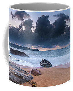 Sunrise Seascape With Clouds Coffee Mug