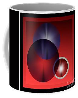 Coffee Mug featuring the digital art 2978 2017 by John Krakora