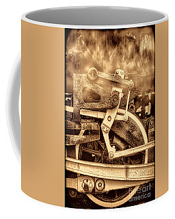 3 10 To Nowhere  Coffee Mug by American West Legend By Olivier Le Queinec