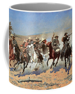 A Dash For The Timber Coffee Mug