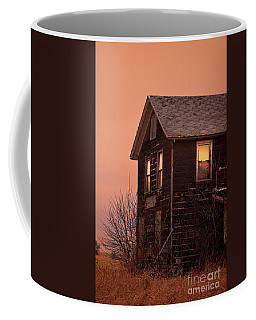 Coffee Mug featuring the photograph Abandoned House by Jill Battaglia