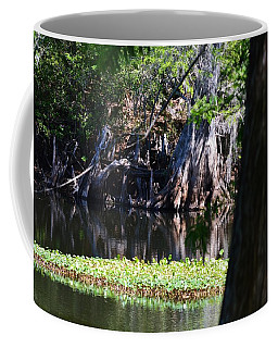 Across The River Coffee Mug by Warren Thompson