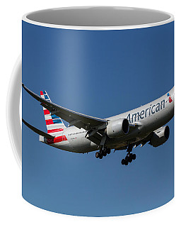 American Airlines Boeing 777 Coffee Mug