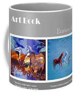 Art Book Coffee Mug