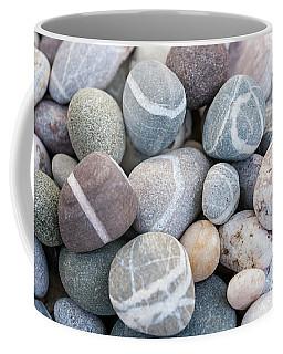 Coffee Mug featuring the photograph Beach Pebbles by Elena Elisseeva