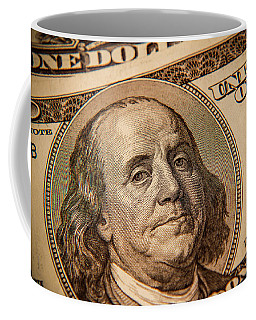 Coffee Mug featuring the photograph Benjamin Franklin by Les Cunliffe