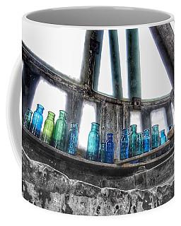 Bromo Seltzer Vintage Glass Bottles Coffee Mug