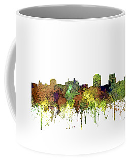 Colorado Springs Colorado Skyline Coffee Mug by Marlene Watson