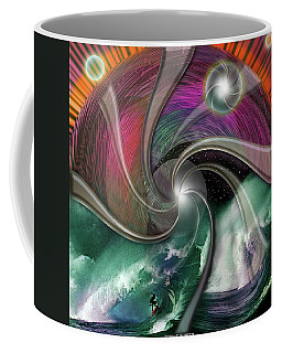 Cosmic Surfer Coffee Mug
