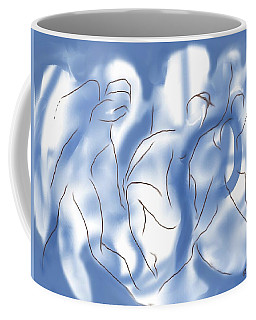 3 Dancing Figures Coffee Mug