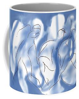 3 Dancing Figures Coffee Mug by Mary Armstrong