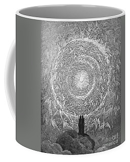 Coffee Mug featuring the photograph Dante Paradise by Gustave Dore
