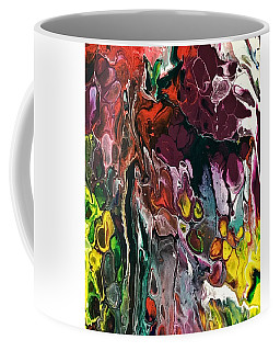 Coffee Mug featuring the painting Detail Of Auto Body Paint Technician 4 by Robbie Masso