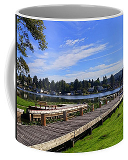 Devils Lake Oregon Coffee Mug