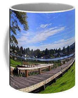 Devils Lake Oregon Coffee Mug