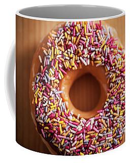 Donut And Sprinkles Coffee Mug