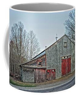 Faithful Old Barn Coffee Mug