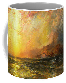 Fiercely The Red Sun Descending Burned His Way Along The Heavens Coffee Mug