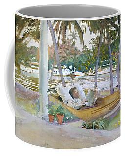 Figure In Hammock, Florida Coffee Mug