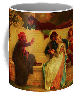 Coffee Mug featuring the painting Florentine Poet by Alexandre Cabanel