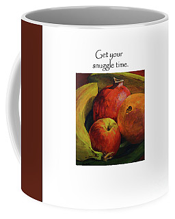 Get Your Snuggle Time Title On Top Coffee Mug