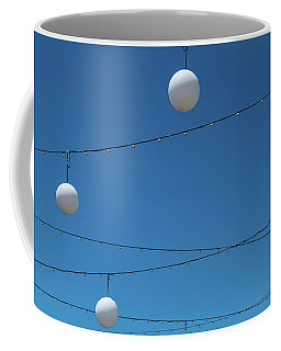 Coffee Mug featuring the photograph 3 Globes by Eric Lake