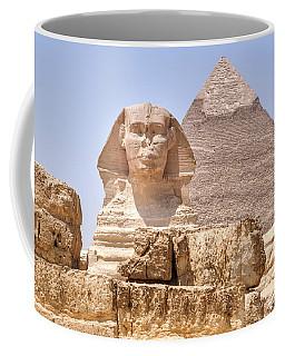 Great Sphinx Of Giza - Egypt Coffee Mug