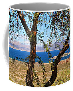 Hoover Dam Visitor Center Coffee Mug by Kathryn Meyer