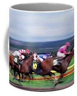 Horse Race Coffee Mug