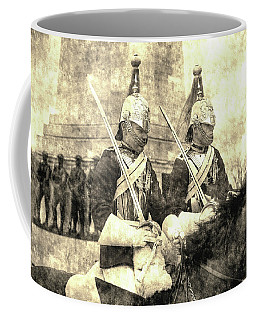 Household Cavalry Changing Of The Guard Vintage Coffee Mug
