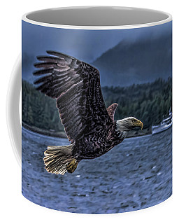 In Flight. Coffee Mug