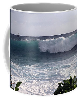 Incoming Coffee Mug by Karen Nicholson