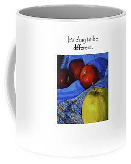 It's Okay To Be Different Title On Top Coffee Mug