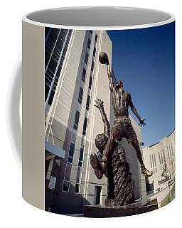 Low Angle View Of A Statue In Front Coffee Mug