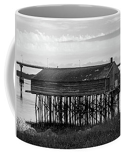 Coffee Mug featuring the photograph Lubec, Maine  by Trace Kittrell